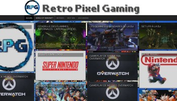 Retro Pixel Gaming